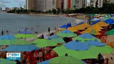Apenas 4 praias próprias para o banho em Fortaleza - Confira quais são na reportagem