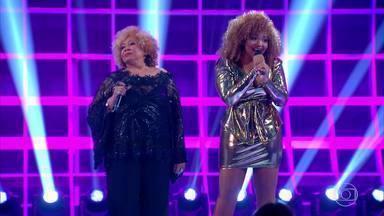 Alcione e Gaby Amarantos cantam juntas no Especial Inspiração - Alcione e Gaby Amarantos cantam 'Maria Maria' e 'Maria da Penha'I