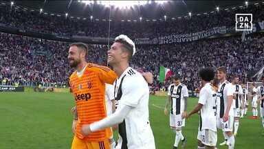Com Cristiano Ronaldo, Juventus garante o octacampeonato do Italiano - Com Cristiano Ronaldo, Juventus garante o octacampeonato do Italiano