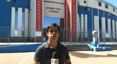 Athletico desembarca nesta segunda-feira em Cochabamba, na Bolívia - Athletico desembarca nesta segunda-feira em Cochabamba, na Bolívia