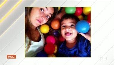 Suspeito de participar de assalto que ocasionou atropelamento de mãe e filho é preso em SP - O menino Leandro dos Santos, de 5 anos, morreu e a mãe dele está hospitalizada em estado grave.
