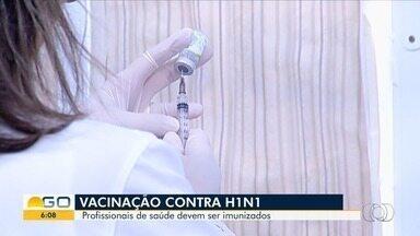 Vacina contra a gripe tem baixa adesão em Goiás - Grupos de risco precisam procurar unidades de saúde pública para se imunizar.