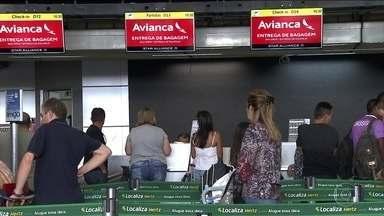 Devolução de aviões da Avianca cancela mais de mil voos nessa semana - Companhia aérea entrou em recuperação judicial. Empresas devem notificar o passageiro com 72 horas de antecedência.