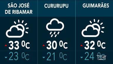 Confira as variações do tempo nesta terça-feira (23) no Maranhão - Veja como deve ficar o tempo e a temperatura em São Luís e no Maranhão.