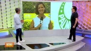 Palmeiras ao vivo: treino é fechado, mas Ricardo Goulart trabalha no campo - Palmeiras ao vivo: treino é fechado, mas Ricardo Goulart trabalha no campo