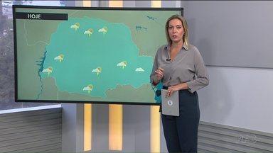 Tempo fica úmido e ameno nesta terça-feira - A previsão é de que o sol apareça entre as nuvens na quarta-feira.