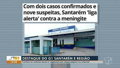 Casos de meningite e estado de alerta em Santarém é destaque no G1 Santarém e Região - Veja essa e outras notícias pelo celular, tablet e computador.