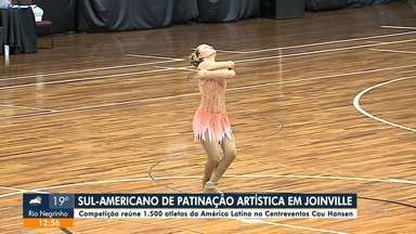 Campeonato de Patinação Artística reúne atletas de várias nacionalidades - Campeonato de Patinação Artística reúne atletas de várias nacionalidades