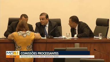 Reunião na câmara de vereadores aprovam dois relatórios por unanimidade - Três assuntos estiveram em pauta durante a reunião.