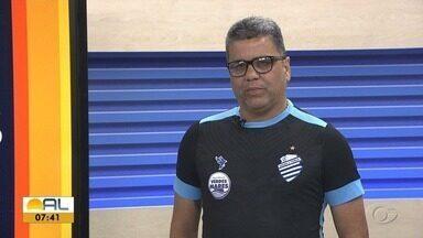 Marcelo Cabo é entrevistado do Globo Esporte-AL - Técnico do CSA fla sobre título entre outros assuntos.