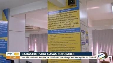 Está aberto o cadastro para mais de 300 imóveis populares em Campo Grande - Está aberto o cadastro para mais de 300 imóveis populares em Campo Grande