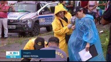 Polícia investiga execução de mecânico no bairro da Pedreira, em Belém - Crime assustou moradores.
