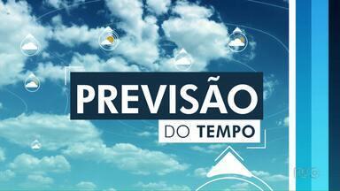 Região de Londrina pode ter chuvas isoladas nos próximos dias - Temperatura nesta quarta-feira (24) atinge 28 graus.