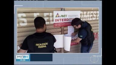 ANTT fecha postos clandestinos de venda de passagens de ônibus em Januária - Agência de Transportes diz que postos comercializavam passagens para várias empresas que não possuem autorização para fazerem viagens interestaduais.