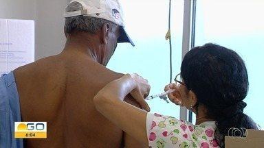 Vacinação contra a gripe atinge 10,6% do público-alvo em Goiás e deixa SES em alerta - Dados consideram os primeiros 12 dias da campanha. No mesmo período de 2018 o índice já era de quase 50%.