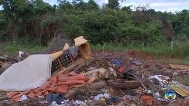 Prefeitura de Rio Preto usa drones para combater o descarte irregular de lixo - Foi lançado em São José do Rio Preto, um novo sistema de fiscalização da Secretaria de Serviços Gerais que vai usar drones para combater o descarte irregular de lixo/entulhos.