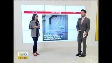 Confira os destaques do G1 nesta quarta-feira (24) - ANTT e Policia Civil interdita quatro postos de venda de passagem clandestina em Januária.