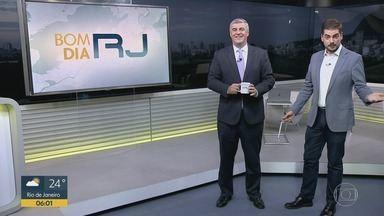 Bom Dia RJ - Edição de quarta-feira, 24/04/2019 - As primeiras notícias do Rio de Janeiro, apresentadas por Flávio Fachel, com prestação de serviço, boletins de trânsito e previsão do tempo.