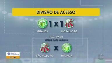 Partidas definem primeiro semifinalista da divisão de acesso do Gauchão - Assista ao vídeo.