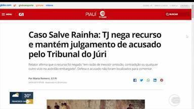 Caso Salve Rainha: acusado tem recurso negado pelo Tribunal de Justiça - Caso Salve Rainha: acusado tem recurso negado pelo Tribunal de Justiça