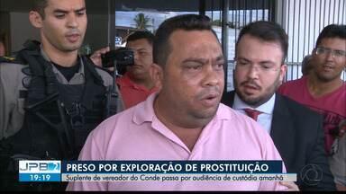 JPB2JP: Suplente de vereador do Conde foi preso por exploração de prostituição - Passa por audiência de custódia amanhã.