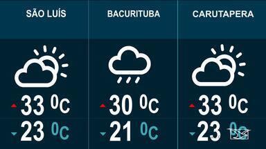 Confira as variações do tempo nesta quarta-feira (24) no Maranhão - Veja como deve ficar o tempo e a temperatura nesta quarta-feira (24) em São Luís e no Maranhão.