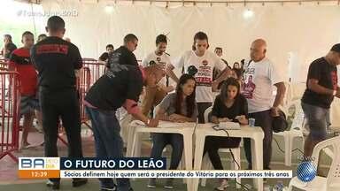 Eleições para presidência do Vitória acontecem nesta quarta-feira (24) - O presidente deve ficar no cargo por três anos.