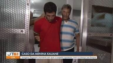 Vídeo mostra suspeito carregando no colo menina de 6 anos antes de matá-la - Suspeito confessou à polícia ter matado Kauani Critshiny após ficar 'descontrolado' durante um desentendimento em uma festa na casa criança.