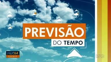 Previsão é de tempo instável em todo o Paraná - Em Londrina, a máxima chega aos 30º.