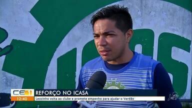 Icasa anuncia reforço - saiba mais em g1.com.br/ce