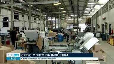 Ceará se destaca no crescimento do setor industrial - Outras informações no g1.com.br/ce
