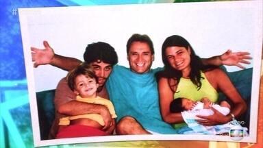Filhos e neta de Herson Capri mandam mensagem para o ator - Ator participa do '#TBT do Encontro'