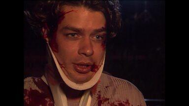 Confira making do acidente com Marcelo em 'Por Amor' - Cena aconteceu no primeiro capítulo da novela