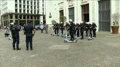 Guarda Civil Metropolitana de São Paulo começou a usar patinetes no patrulhamento - O objetivo é prevenir crimes nas áreas de grande circulação da capital paulista.