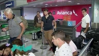 Procon-SP fiscaliza situação de passageiros que tentam embarcar em voos da Avianca - De hoje até a próxima terça-feira são quase mil voos cancelados.