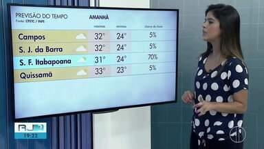 Confira a previsão do tempo para esta quarta-feira (24) no Norte e Noroeste Fluminense - Assista a seguir.