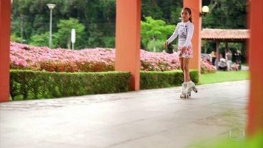 Menina transgênero luta por direito de participar de competições de patinação femininas - Maria Joaquina, de 11 anos, só conseguiu competir entre as meninas no Campeonato Sul Americano de Patinação Artística através de uma liminar da Justiça.