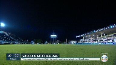 Vasco recebe Atlético-MG - Time tem a chance de se recuperar da goleada na primeira rodada do Brasileirão para o Athlético Paranaense.