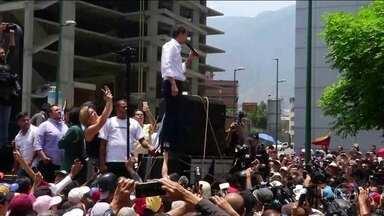 Venezuela tem novas manifestações a favor e contra o governo de Nicolás Maduro - A Venezuela teve, nesta quarta (1º), novas manifestações, a favor e contra Nicolás Maduro e houve novos confrontos em vários pontos da capital, Caracas. O clima no país ainda é de tensão e de incerteza.