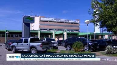 Hospital Francisca Mendes ganha nova sala de cirurgia e oito leitos de UTI - Estado tem fila de 700 pessoas para cirurgias cardíacas.
