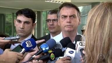 Crise na Venezuela pode elevar o preço do petróleo - O presidente Jair Bolsonaro disse que com a agravação dos problemas na Venezuela, o preço do petróleo, a princípio, sobe. Ele declarou que o Brasil pode ter uma questão séria com o efeito colateral do que acontece no outro país.