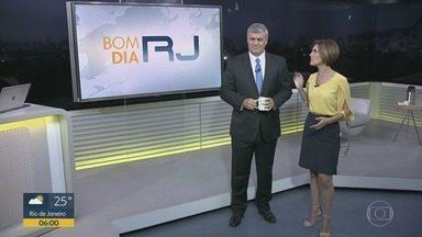 Bom Dia RJ - Edição de quinta-feira, 02/05/2019 - As primeiras notícias do Rio de Janeiro, apresentadas por Flávio Fachel, com prestação de serviço, boletins de trânsito e previsão do tempo.