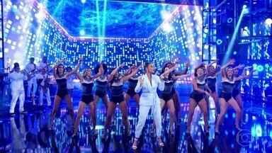 Ivete Sangalo levanta a plateia com 'Teleguiado' - Público canta e dança junto