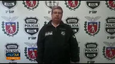 Homem é preso suspeito de matar ex-mulher com barra de ferro em São Mateus do Sul - Segundo a polícia, depois das agressões com a barra de ferro, o ex-marido ainda passou por cima da vítima com o carro.