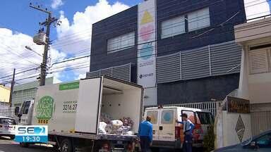Alimentos arrecadados no Forrozão 2019 são entregues a instituições beneficentes - Foram quase 14 mil quilos arrecadados.