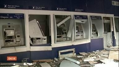 Nove suspeitos de participar de assalto a bancos no PI são mortos em confronto - Grupo era Minas Gerais e planejava outros crimes na região. Outros cinco integrantes da quadrilha foram presos e três continuam foragidos.
