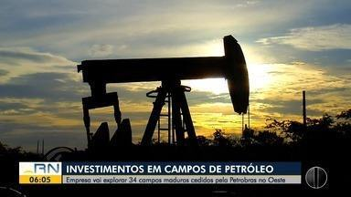 Empresa que comprou 34 campos de petróleo no RN promete incrementar produção - Empresa que comprou 34 campos de petróleo no RN promete incrementar produção