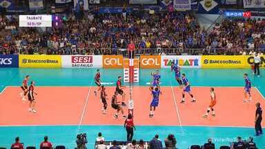 Superliga Masculina de Vôlei - Final - jogo 4 - Taubaté x Sesei-SP
