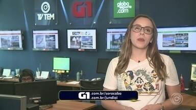 Carol Andrade traz os destaques do G1 nesta terça-feira - Carol Andrade traz os destaques do G1 nesta terça-feira (7).