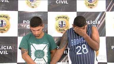Polícia prende foragidos do Pará envolvidos em crimes de 'saidinha bancária' em São Luís - Segundo a polícia, Leonardo Oliveira e Wellington Robson também possuem vasto histórico criminal de roubos patrimoniais.